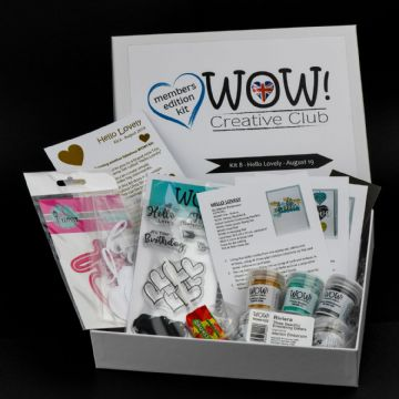 WOW!  Creative Club - Kit 8 (Launched August 2019) - Hello Lovely